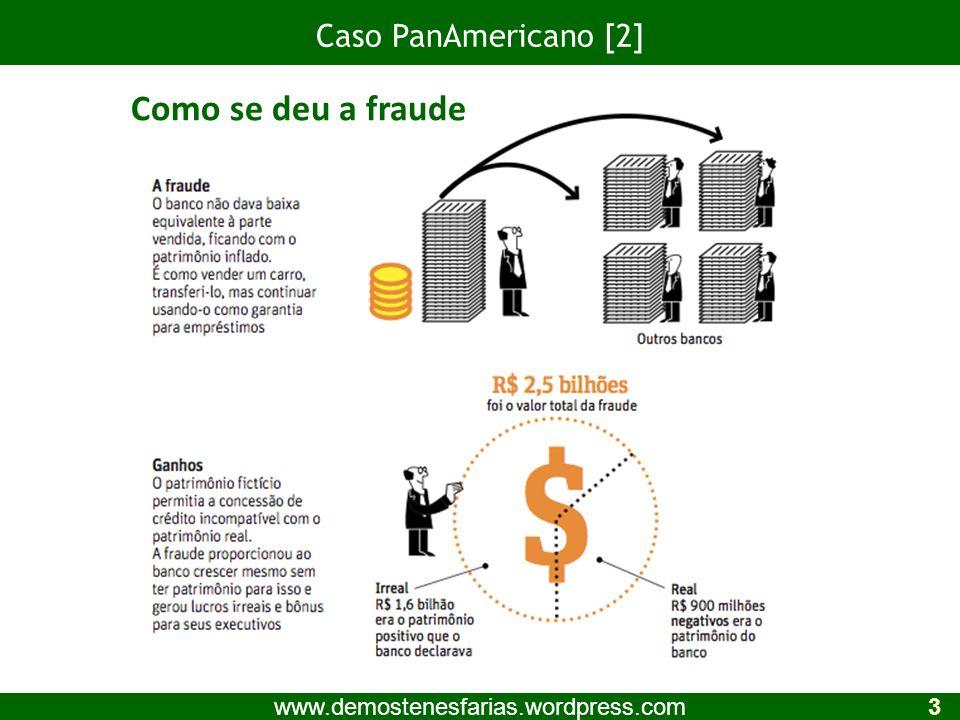 Como se deu a fraude Caso PanAmericano [2]